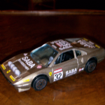 1:43 Burago Ferrari 308 GTB 1980's  Diecast model (GREY) NO 32 SABA racing @sold@